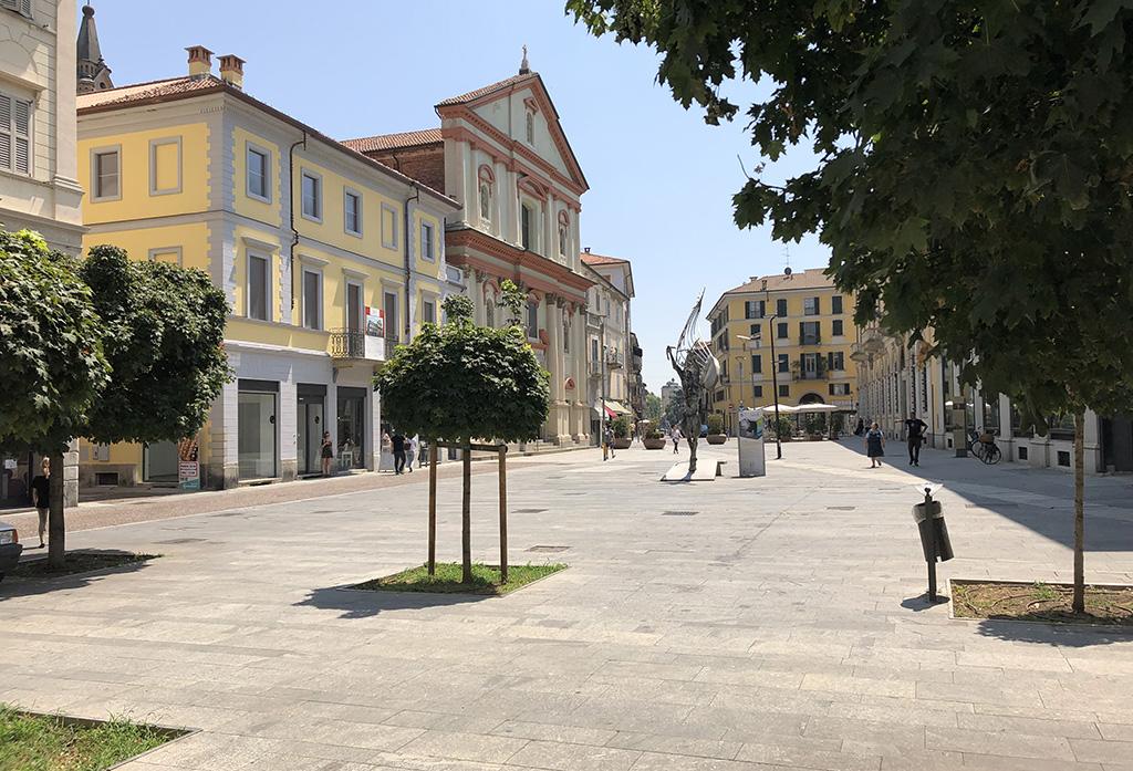Piazza Gramsci - palazzostorico